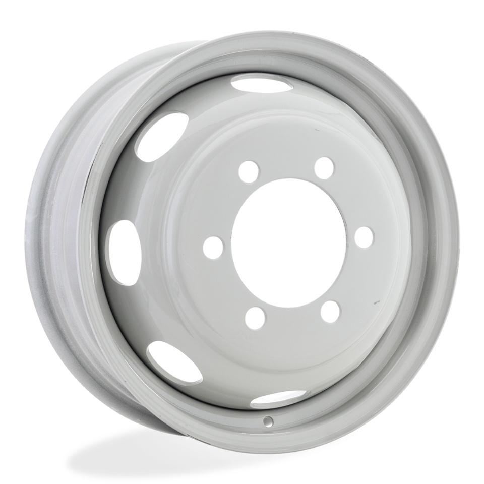 Штампованный диск ГАЗ Газель-2123 5.5x16/6*170 D130 ET105 Металлик