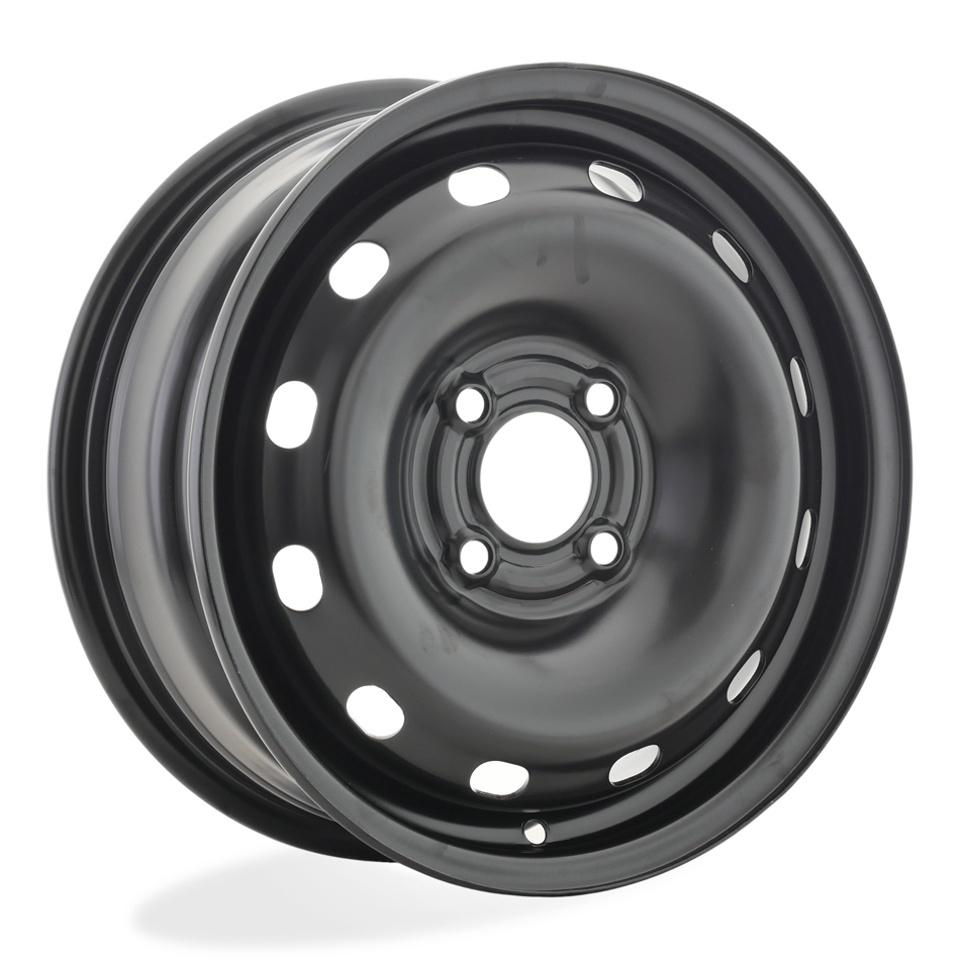 Фото - Штампованный диск ТЗСК Hyundai Solaris/Kia Rio 3 6x15/4*100 D54.1 ET48 Черный-глянец next nx013 solaris rio 6x15 4x100 d54 1 et48 black