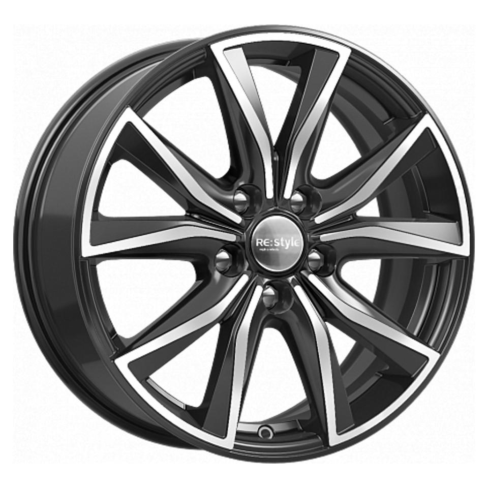 Фото - Литой диск КиК Toyota Camry (КС867) 7x17/5*114.3 D60.1 ET45 Алмаз-черный литой диск кик lifan x60 кс704 6 5x16 5 114 3 d60 1 et45 silver