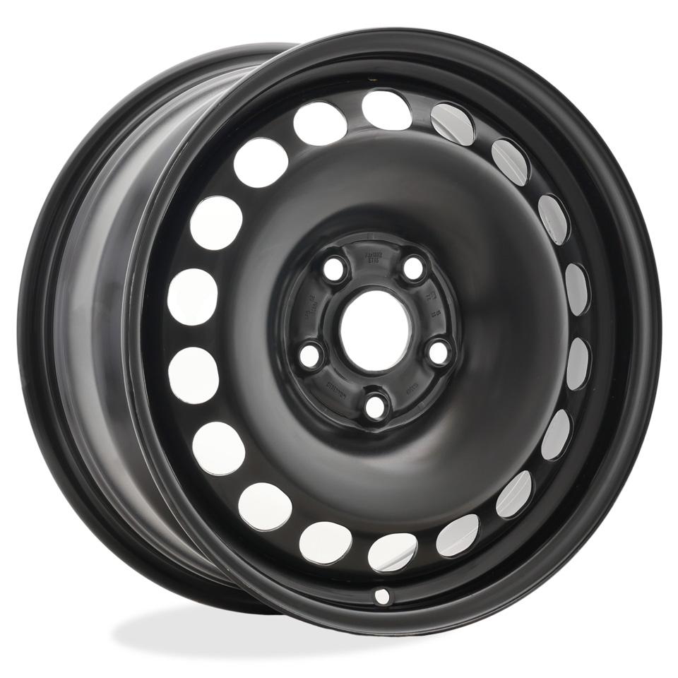 Штампованный диск Kronprinz 9257 7x16/5*112 D57.1 ET45 Black