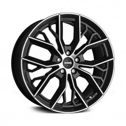 Momo Massimo 7.5x17 PCD5x108 ET50 DIA 67.1  Matt Black-Polished